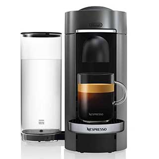 Nespresso Vertuoplus Deluxe by Delonghi with Aeroccino 3 Frother