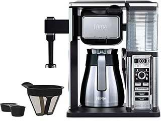 Ninja Coffee Bar 10 Cup Carafe Coffee Maker CF091 Model Stainless Steel and Black