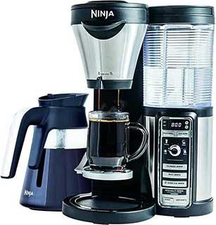 Ninja Coffee Brewer with Glass Carafe CF081 Model