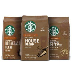 Starbucks Medium Roast Ground Coffee 100% Arabica