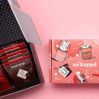 Un'kuppd Pour-over Coffee - Subscription: 15 Pack Box
