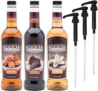 Upouria Coffee Syrup Variety Pack