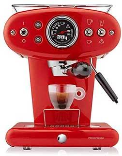 illy X1 Espresso Machine, 13 x 9.8 x 10.60, Red: Kitchen & Dining