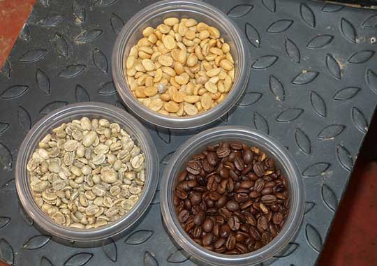 Different Flavors After Coffee Roasting