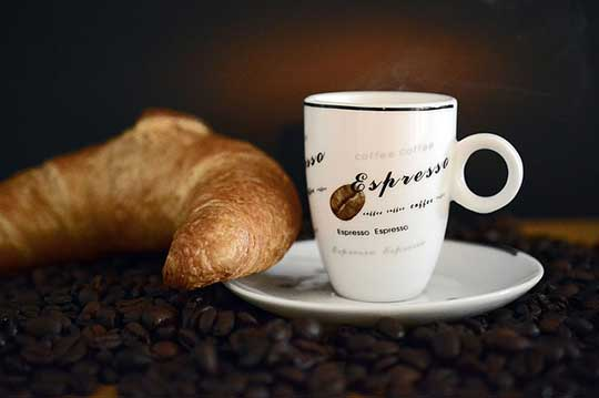 High mg of Caffeine in Espresso
