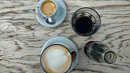 Stpes on How do you Drink Cafe au Lait